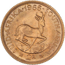 South Africa – 2 Rand 1966 – gold