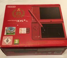 Nintendo DSi XL limited edition Mario 25th anniversary in box