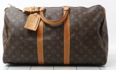 Louis Vuitton - Monogramme Keepall 45 - travel bag Reisetasche - Vintage