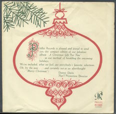 "Philles / Phil Spector EP - ""A Christmas Gift For You""- With Rare Promotional Picture"