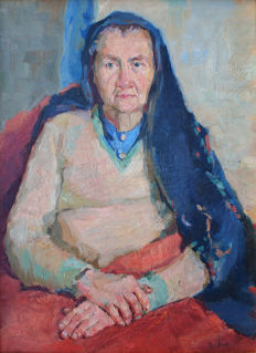 Youri BALIKOV Russian Federation (1924 -) Portrait