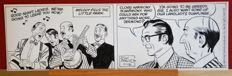Original comic strip by John Prentice, Rip Kirby