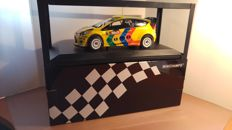 Minichamps - Scale 1/18 - Ford Fiesta RS WRC - #15 - Rally Wales 2011 - Drivers: Solberg / Minor - Limited Edition of 1002 pieces