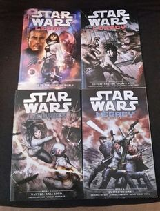 Dark Horse Comics - Star Wars Legacy II - Trade Paperbacks - Vol 1, 2, 3 and 4