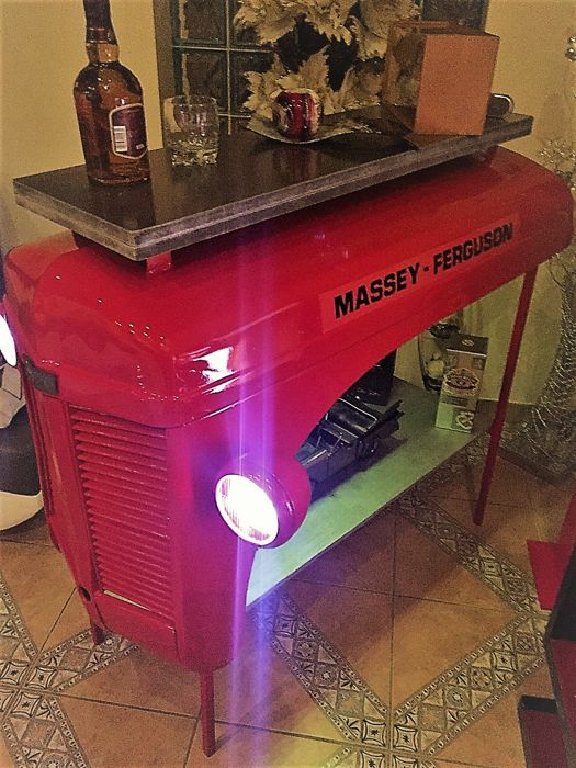 Massey Ferguson Tractor Hood Turned Into Bar Catawiki