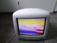 Apple iMac G3/600 (Summer 2001) Snow - 600Mhz PowerPC G3, 384MB RAM, 40GB HD - model nr M5521