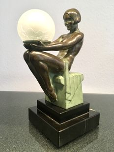 """""""Delassement lumineux"""" by Max LeVerrier - Table Lamp"""