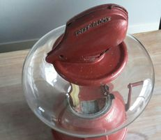 Rare Design Treff Glocke Nussglocke 1949 Germany peanut dispenser working 100%