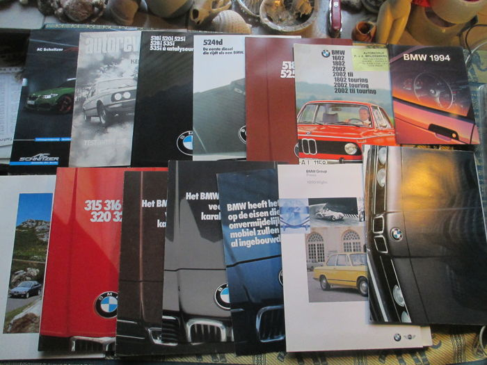 Brochures / Catalogues - BMW - 1972-2002 (14 objets)