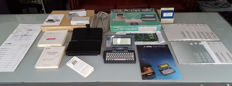 Atari Portfolio (aka Atari PC Folio) SET + PC card + drive + software + manuals + case + magazines