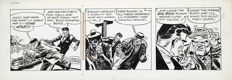 Frank Robbins - Original Comic Strip Art - Johnny Hazard - (1972)