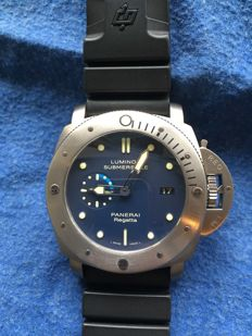 Panerai - Luminor Submersible 1950 Regatta Special Edition - PAM 00371 - Uomo - 2011-presente