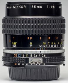 Nikkor Ai-S 55mm f2.8 Marco Lens for Nikon AI Camera