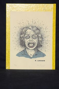Robert Crumb - Signed and Numbered Print 2014