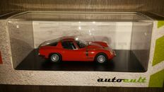 Autocult - Scale 1/43 - Bizzarini 1900 GT - Red - Limited edition 333