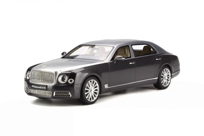 GT-Spirit - 1/18 scale - Bentley Mulsanne 2016 EWB - Metallic two-tone