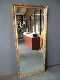 Mega large size mirror with bevelled glass - Measures: 71 cm.x 162 cm. - classical form