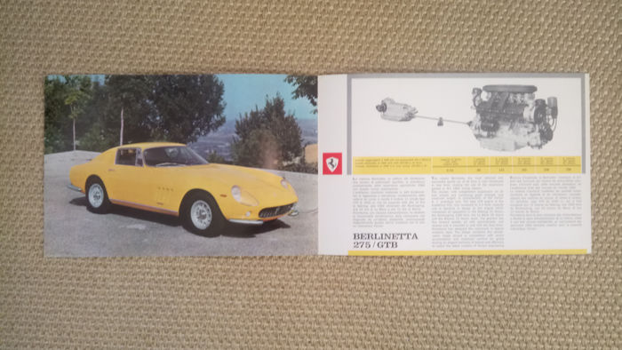 Ferrari 275 GTB catalogue