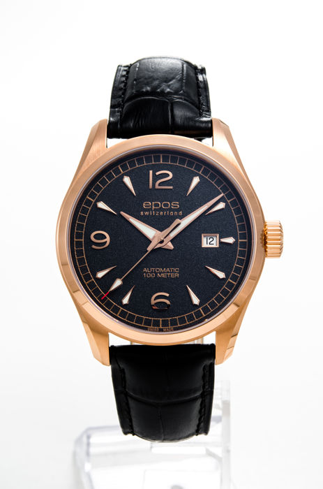 Epos - PASSION 3401 AUTOMATIC 43MM - 3401/F-RG-BLK-ARAB - Uomo - 2011-presente