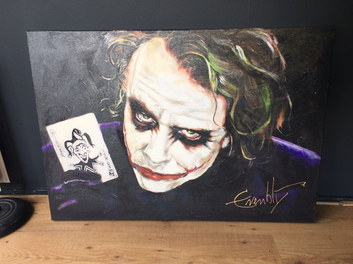 Stephan evenblij the joker heath ledger catawiki for Stephan evenblij
