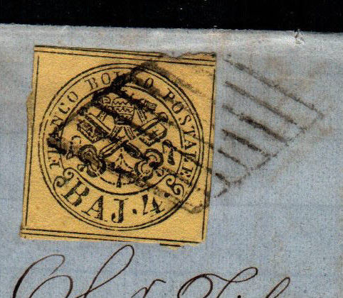 Papal State 1855/1865 - Selection of letters