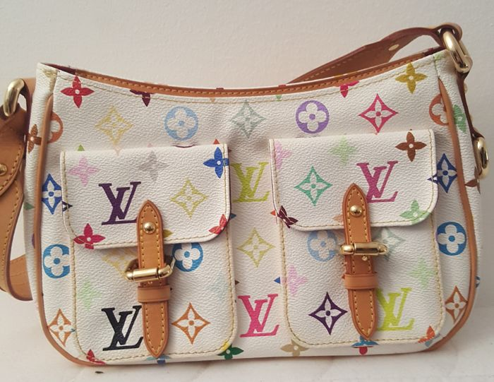 422682c42d31 Louis Vuitton - Multicolore Lodge PM Handväska - Catawiki