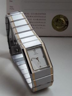 Omega De Ville Design Ladies Gold - Steel Exclusive Watch New from 1982