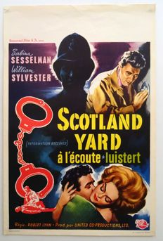 Anonymous - Information received / Scotland Yard luistert - 1961