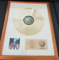 The Beatles - Abbey Road Presented to The Beatles