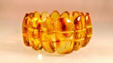 Baltic Amber Bracelet, 33 grams