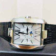 CERRUTI 1881 – Men's Swiss Made Luxury Watch with Moon Phase Feature