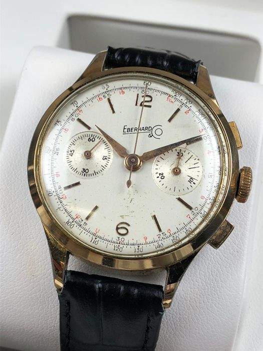 3aa6b2d08d8 Eberhard   Co. Vintage Chronograph Manual ref  65775 - men s watch