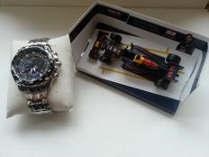 Casio Edifice EF-550RBSP-1AVER Red Bull Racing Limited Edition - Men's wristwatch + Red Bull Racing Car
