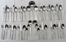 Cutlery for 6 people Keltum Symphony, marked 18/10 with post horn
