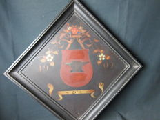 Unknown - dated 1909 - Blacksmith guild coat of arms