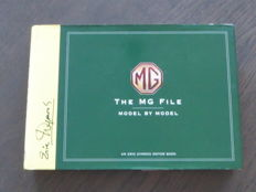 Book - Eric Dymock - The MG File - Model by model - 2001