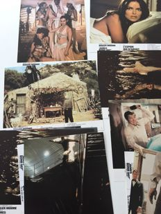 Nice selection of 85 color stills about James Bond movies - Included Roger Moore as 'Bond'