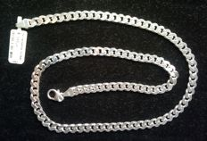 925/1000 silver necklace by FBM - 50 cm - 36.5 grams