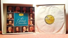 4) Deutsche Grammophon lot of 47 sigle lp tulip-no tulip and 1 box Le grands concertos dgg for a total to 57 lp