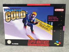Súper Nintendo Game - WInter Gold - PAL / EUR - Text on screen in English