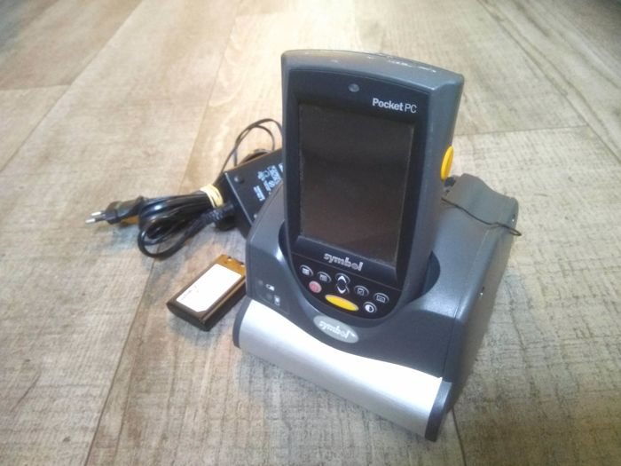 Symbol N410 Pocket Pc Rugged Pda With Built In Barcode Scanner