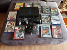 Sony Playstation 2 with 2 joypads and 12 Games ( Need for Speed, Gran-Turismo, Eye Toy and many others