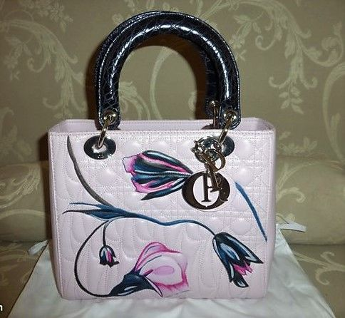 Christian Dior - Lady Dior Hand/shoulder Bag - Limited Edition