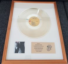 The Rolling Stones - Sticky Fingers Presented to The Rolling Stones