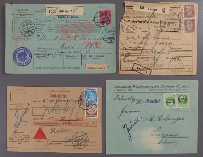 German empire 18601940 batch of postage items including image german empire 18601940 batch of postage items including imageletterpost m4hsunfo