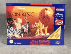 Súper Nintendo Game - The lion king - PAL / EUR - Text on screen in English