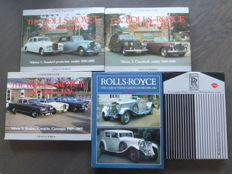 Books; Lot of 5 Rolls Royce and Bentley - 1984/1999