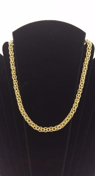 Necklace in 18 kt yellow gold  40 CM / 16.5 G