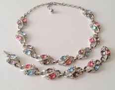 Crown TRIFARI Alfred Philippe Necklace and Bracelet Set