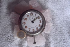 Rare large dashboard clock A. Rosskopf & Cie Patent with seconds hand